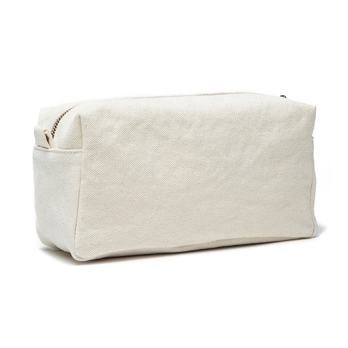 organtic canvas cosmetic bag