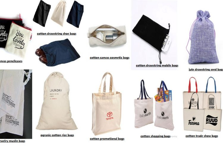 cotton bags types and usages