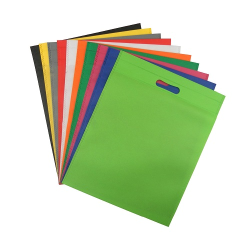 die-cut promotional non woven bags