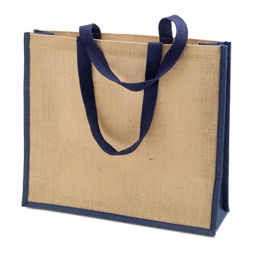 hemp jute shopping bag